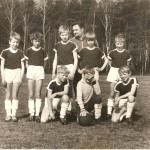Jugendmannschaft sechziger Jahre mit dem Trainer Jörg Zander